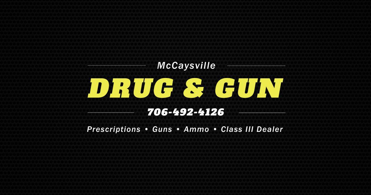 Medicare Part D >> McCaysville Drug & Gun